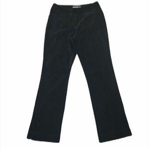 RL Polo Jeans Co Black Velour Straight Pants